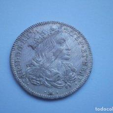 Monedas antiguas de Europa: 11SCD14 NÁPOLES IMPERIO ESPAÑOL 1 TARI (20 GRANA) DE PLATA 1691 AGA. Lote 268766369