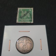 Monedas antiguas de Europa: ANTIGUA MONEDA NAZI ORIGINAL 1 PFENNIG LLL REICH 1939 ALEMANIA. Lote 268819019