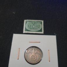 Monedas antiguas de Europa: ANTIGUA MONEDA NAZI ORIGINAL 1 PFENNIG LLL REICH 1937.ALEMANIA. Lote 268819414