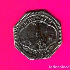 Monedas antiguas de Europa: NOTGELD, HAMM, WESTFALIA, ALEMANIA 5PFENNIG 1919, HIERRO. Lote 268859109