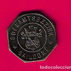 Monedas antiguas de Europa: NOTGELD, GAILDORF (WÜRTTEMBERG) ALEMANIA, 10 PFENNIG 1918 HIERRO, MONEDA DE NECESIDAD. Lote 268869469