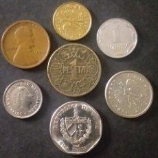 Monedas antiguas de Europa: LOTE DE 7 MONEDAS DISTINTO VALOR CON FECHAS DISTINTAS PAÍSES DISTINTOS. Lote 268919009