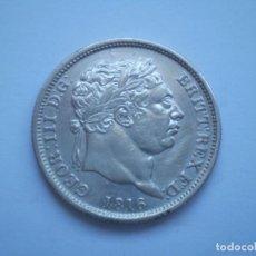 Monedas antiguas de Europa: 22SCD14 GRAN BRETAÑA 1816 UN CHELÍN DE PLATA. Lote 268989704