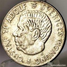 Monete antiche di Europa: ⚜️ A2257. PLATA. 1 KRONA 1956. SUECIA. Lote 269043628