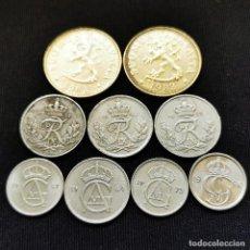 Monete antiche di Europa: ⚜️ A2236. LOTE PAÍSES NÓRDICOS. 24G. Lote 269065418