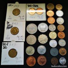 Monete antiche di Europa: ⚜️ A2219. LOTE EJEMPLARES DESTACABLES. MUCHO EXCELENTE Y HASTA SC Y PROOF. 96G. Lote 269066978