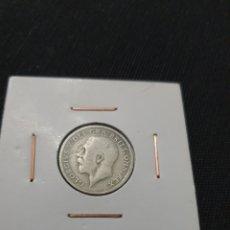 Monedas antiguas de Europa: ANTIGUA MONEDA SIXPENCE GEORGIVS V 1922. Lote 269170538