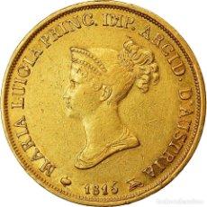 Monedas antiguas de Europa: [#489909] MONEDA, ESTADOS ITALIANOS, PARMA, MARIA LUIGIA, 20 LIRE, 1815, MBC, ORO, KM:31. Lote 269180018