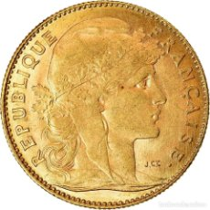 Monedas antiguas de Europa: [#13] MONEDA, FRANCIA, MARIANNE, 10 FRANCS, 1912, PARIS, EBC, ORO, KM:846. Lote 269180028