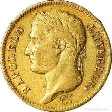 Monedas antiguas de Europa: [#489320] MONEDA, FRANCIA, NAPOLÉON I, 40 FRANCS, 1813, GENOA, MBC, ORO, KM:696.2. Lote 269180073