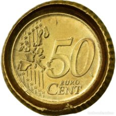 Monedas antiguas de Europa: [#487414] UNIÓN EUROPEA, 50 EURO CENT, ERROR CAPPED DIE, FAUTÉE, EBC, LATÓN. Lote 269180133