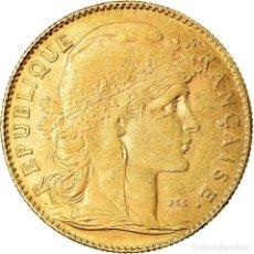 Monedas antiguas de Europa: [#901580] MONEDA, FRANCIA, MARIANNE, 10 FRANCS, 1912, PARIS, BC+, ORO, KM:846. Lote 269180183
