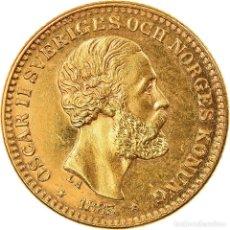 Monedas antiguas de Europa: [#904318] MONEDA, SUECIA, OSCAR II, 10 KRONOR, 1883, SC, ORO, KM:743. Lote 269180253