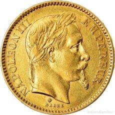 Monedas antiguas de Europa: [#901523] MONEDA, FRANCIA, NAPOLEON III, NAPOLÉON III, 20 FRANCS, 1864, STRASBOURG, MBC+. Lote 269180453