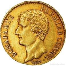Monedas antiguas de Europa: [#489977] MONEDA, FRANCIA, NAPOLÉON I, 20 FRANCS, AN 12, PARIS, EBC, ORO, KM:651. Lote 269181028