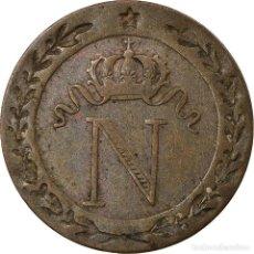 Monedas antiguas de Europa: [#857401] MONEDA, FRANCIA, NAPOLÉON I, 10 CENTIMES, 1809, PARIS, BC+, VELLÓN, KM:676.1. Lote 269181043