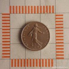 Monedas antiguas de Europa: 1/2 FRANCO, FRANCIA. 5ª REPÚBLICA 1966. (KM#931.1). Lote 269306898