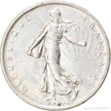 Monedas antiguas de Europa: [#834891] MONEDA, FRANCIA, SEMEUSE, 5 FRANCS, 1960, PARIS, MBC, PLATA, KM:926, GADOURY:770. Lote 269583423