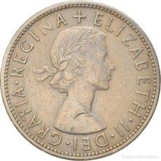Monedas antiguas de Europa: [#886461] MONEDA, GRAN BRETAÑA, ELIZABETH II, 1/2 CROWN, 1956, MBC, COBRE - NÍQUEL. Lote 269583673