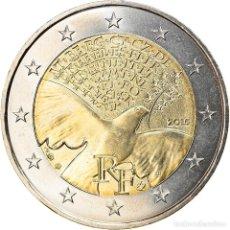 Monedas antiguas de Europa: [#834795] FRANCIA, 2 EURO, 2015, PARIS, BU, FDC, BIMETÁLICO, GADOURY:20., KM:NEW. Lote 269584183