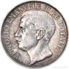 Monedas antiguas de Europa: [#907956] MONEDA, ITALIA, VITTORIO EMANUELE III, 2 LIRE, 1911, ROME, MBC+, PLATA, KM:52. Lote 269584278
