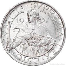 Monedas antiguas de Europa: [#907985] MONEDA, SAN MARINO, 10 LIRE, 1937, ROME, EBC, PLATA, KM:10. Lote 269586458