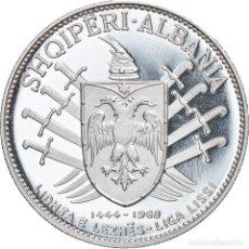 Monedas antiguas de Europa: [#907974] MONEDA, ALBANIA, 25 LEKË, 1968, ROME, SC, PLATA, KM:52.1. Lote 269586498