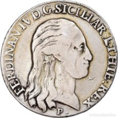 Monedas antiguas de Europa: [#907954] MONEDA, ESTADOS ITALIANOS, NAPLES, FERDINANDO IV, 120 GRANA, 1798, NAPLES, BC+. Lote 269586598