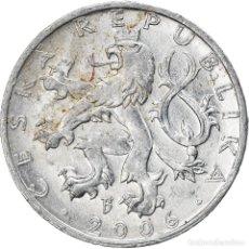 Monedas antiguas de Europa: [#747385] MONEDA, REPÚBLICA CHECA, 50 HALERU, 2006, JABLONEC NAD NISOU, BC+, ALUMINIO. Lote 269587188