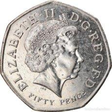 Monedas antiguas de Europa: [#747369] MONEDA, GRAN BRETAÑA, ELIZABETH II, 50 PENCE, 2011, BRITISH ROYAL MINT, MBC. Lote 269587223