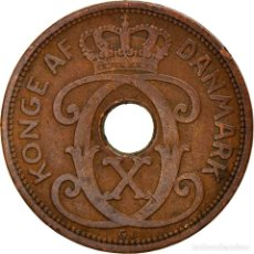 Monedas antiguas de Europa: [#747343] MONEDA, DINAMARCA, CHRISTIAN X, 2 ÖRE, 1929, COPENHAGEN, BC+, BRONCE, KM:827.2. Lote 269587393