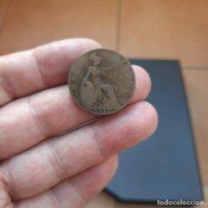 Monedas antiguas de Europa: MONEDA DE 1/2 PENIQUE DE GRAN BRETAÑA DEL AÑO 1912.REY JORGE V.. Lote 269718768