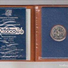 Monedas antiguas de Europa: CARTERA CON 10 DINERS DE ANDORRA DE 1986. SIN CIRCULAR. PLATA. (ME348). Lote 269721153