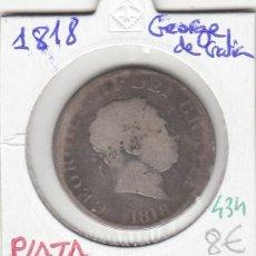 Monedas antiguas de Europa: CR0434 MONEDA PLATA 1818 GEORGO DE GR. 8. Lote 269722118