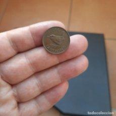 Monedas antiguas de Europa: MONEDA DE 1 FARTHING DE GRAN BRETAÑA DEL AÑO 1950.REY JORGE VI.. Lote 269722348