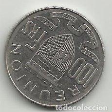 Monedas antiguas de Europa: MAGNIFICA MONEDA DE 100 FRANCS DE LA REUNION. Lote 269843983