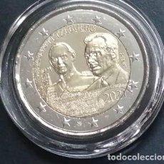 """Monedas antiguas de Europa: LUXEMBURGO 2021.- 2 EUROS NORMAL CENTENARIO DEL NACIMIENTO DEL GRAN DUQUE JEAN """"ENCAPSULADA"""". Lote 270956373"""