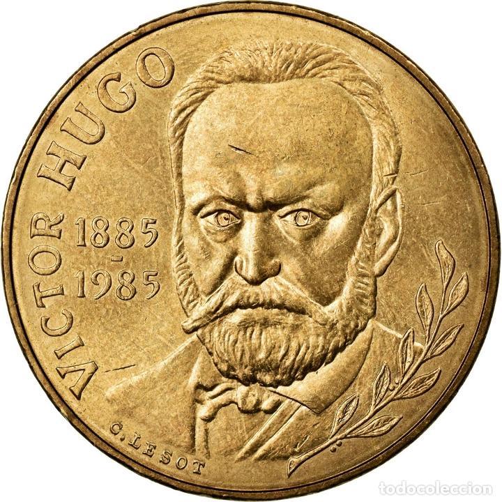 [#77824] MONEDA, FRANCIA, VICTOR HUGO, 10 FRANCS, 1985, EBC+, NÍQUEL - BRONCE, KM:956 (Numismática - Extranjeras - Europa)