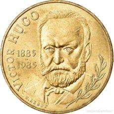 Monedas antiguas de Europa: [#78202] MONEDA, FRANCIA, VICTOR HUGO, 10 FRANCS, 1985, EBC, NÍQUEL - BRONCE, KM:956. Lote 271394523