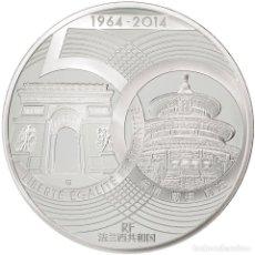 Monedas antiguas de Europa: [#81125] FRANCIA, 10 EURO, FRANCE-CHINE, 2014, FDC, PLATA. Lote 271402063