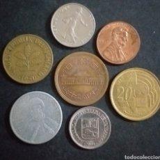Monedas antiguas de Europa: LOTE DE 7 MONEDAS PAISES DISTINTOS FECHAS DISTINTAS Y VALORES DISTINTOS. Lote 272016103