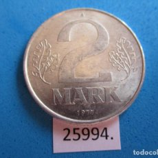 Moedas antigas da Europa: ALEMANIA COMUNISTA RDA ; DDR 2 MARCOS 1979 A, TIPO MARK. Lote 272330323