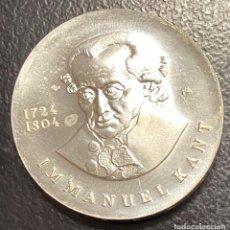 Monedas antiguas de Europa: ALEMANIA ORIENTAL, MONEDA DE PLATA DE 20 MARCOS, DEL AÑO 1974. Lote 275197928
