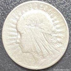 Monedas antiguas de Europa: POLONIA, MONEDA DE PLATA DE 5 ZLOTE, AÑO 1932. Lote 275220838