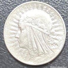 Monedas antiguas de Europa: POLONIA, MONEDA DE PLATA DE 5 ZLOTE, AÑO 1934. Lote 275221158