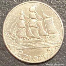 Monedas antiguas de Europa: POLONIA, MONEDA DE PLATA DE 2 ZLOTE, AÑO 1936. Lote 275222913