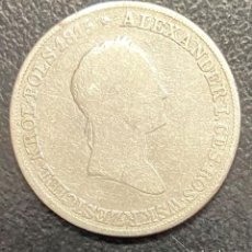 Monedas antiguas de Europa: POLONIA, MONEDA DE PLATA DE 5 ZLOTE, AÑO 1830. Lote 275223468