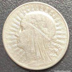 Monedas antiguas de Europa: POLONIA, MONEDA DE PLATA DE 10 ZLOTE, AÑO 1932. Lote 275224328