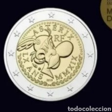 Monedas antiguas de Europa: 2 EUROS FRANCIA 60 ANIVERSARIO ASTERIX Y OBELIX. Lote 275792363
