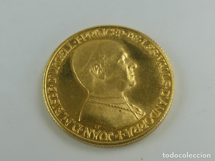 MEDALLA ORO ANDORRA, 1978 ,PRINCEPS DE LES VALLS, ORIGINAL -7,98 GR. (Numismática - Extranjeras - Europa)